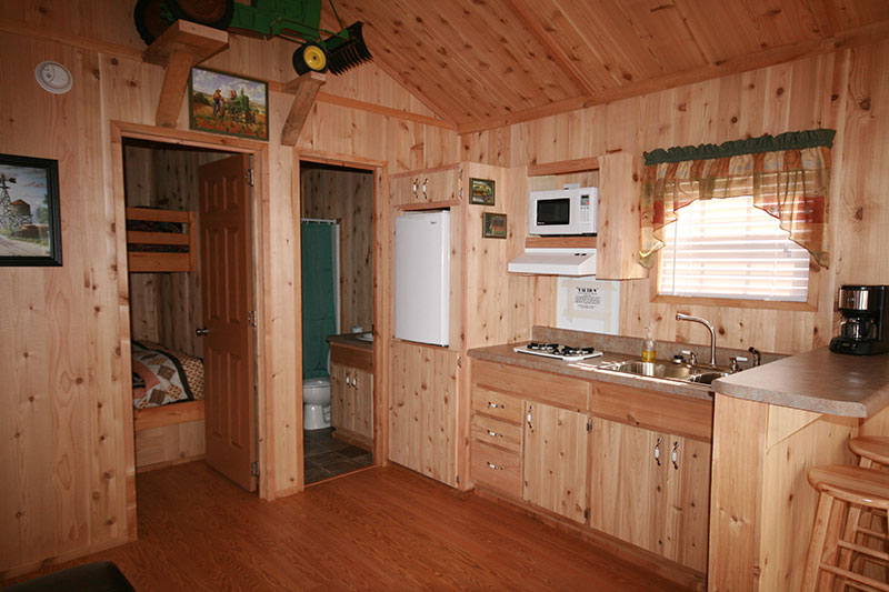 Inexpensive nc mountains campground cabin rental in the smokies near national park - Appalachian container cabin ...
